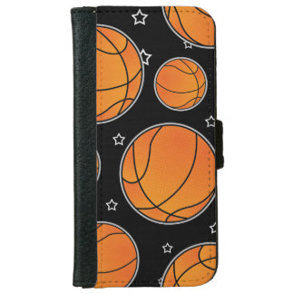 Basketball Star Pattern Wallet Phone Case For iPhone 6/6s