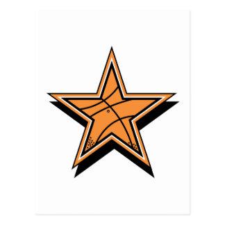 Basketball Star Postcard