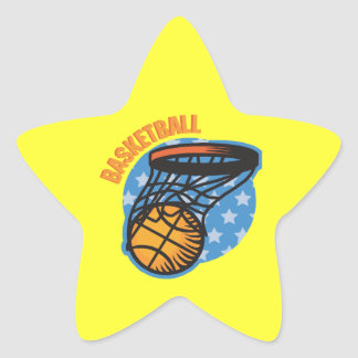 Basketball Star Sticker