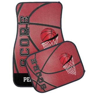 Basketball Style   Personalize Car Floor Mat