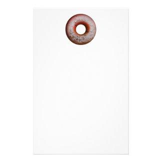 Basketball Style Powdered Donut Customized Stationery