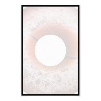 Basketball Style Powdered Donut Stationery Paper