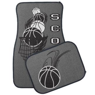 Basketball Stylish Design Car Mat