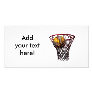 Basketball Success! Photo Card Template