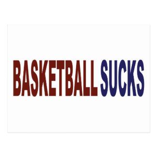 Basketball Sucks Postcard