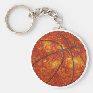 Basketball Sun Keychain