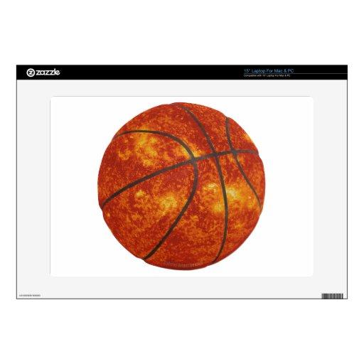 Basketball Sun Laptop Decal
