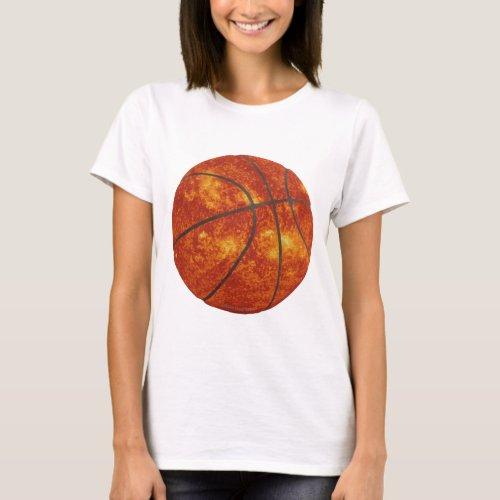 Basketball Sun T_Shirt