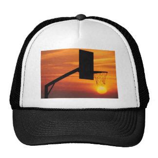 BASKETBALL SUNSET TRUCKER HAT
