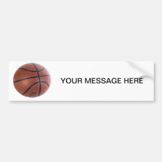 Basketball Superstar Bumper Sticker