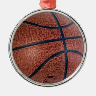Basketball Superstar Metal Ornament