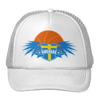 Basketball Sweden   Sverige   Sweden Trucker Hat