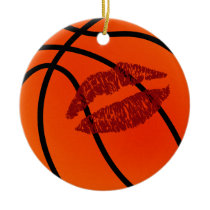 basketball sweetheart multiple messages ornament
