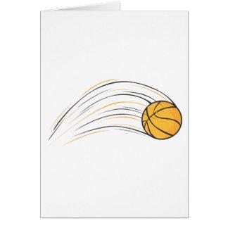 Basketball Swish Card
