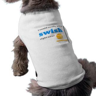 Basketball Swish Dog Shirt Sweater Outfit