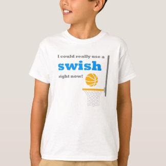 Basketball Swish Kids T-Shirt