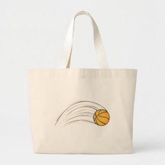 Basketball Swish Large Tote Bag