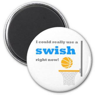 Basketball Swish Magnet