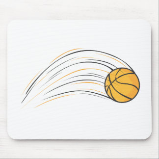 Basketball Swish Mouse Pad