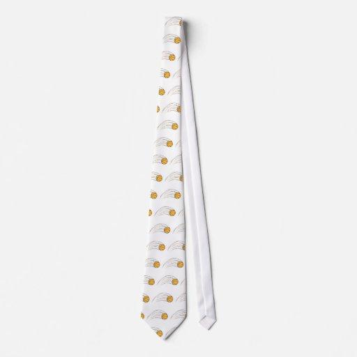 Basketball Swish Neck Tie