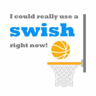 Basketball Swish Photo Sculpture