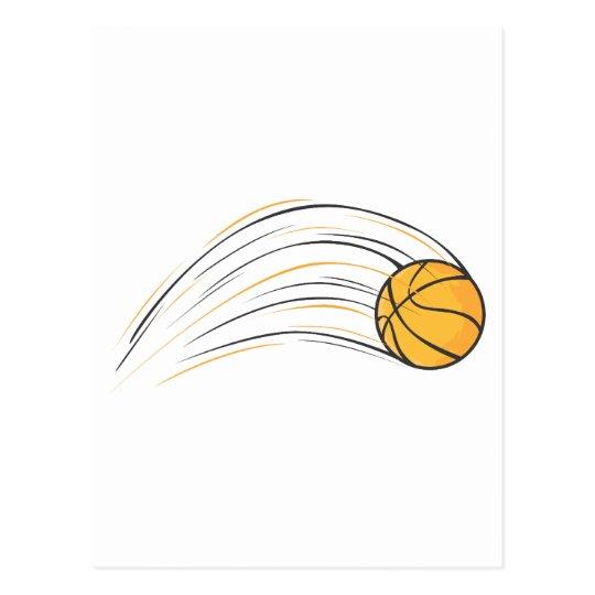 Basketball Swish Postcard