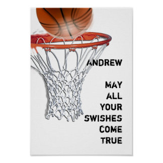 Basketball Swishes Poster