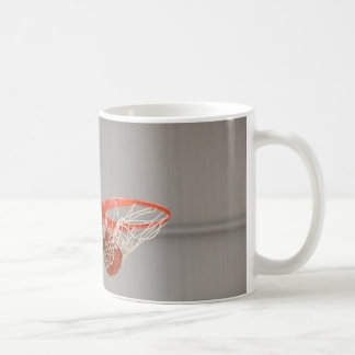 Basketball Swishing Through The Net Classic White Coffee Mug