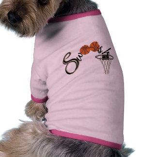 Basketball Swoosh Pet Clothes
