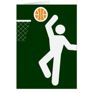 Basketball Symbol Card