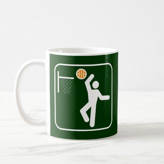Basketball Symbol Mug