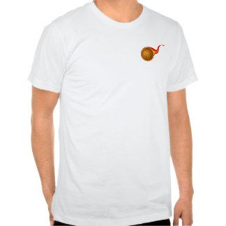 basketball t-shirt -logo