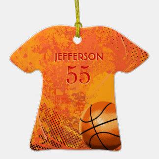 BasketBall T-Shirt Ornament