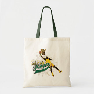 Basketball T-shirts and Gifts Budget Tote Bag