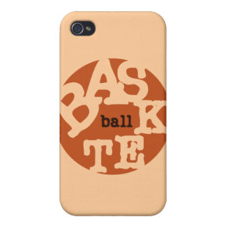 BASKETball T-shirts and Gifts Cases For iPhone 4
