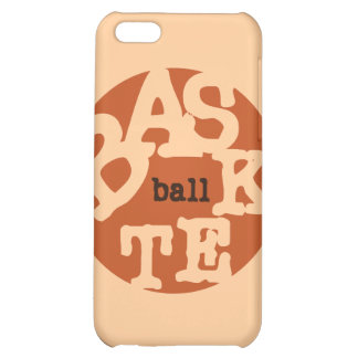 BASKETball T-shirts and Gifts iPhone 5C Cases