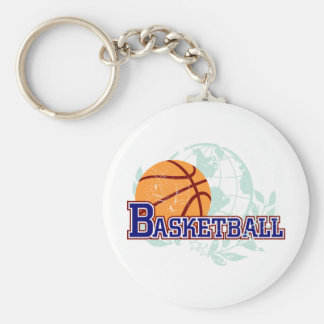Basketball T-shirts and Gifts Keychain