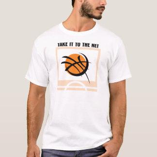 Basketball Take It To The Net T-Shirt