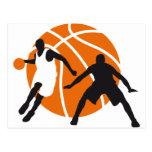 basketball tarjetas postales