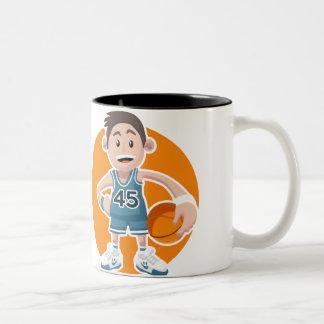 Basketball Taza Dos Tonos