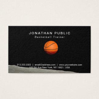 Basketball Teacher Instructor Inspirational Modern Business Card