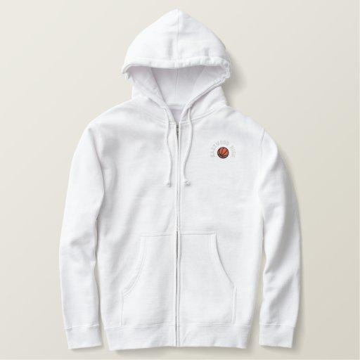 Basketball Team - Customizable Embroidered Hoodie