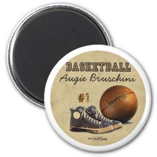 Basketball - Team sport 2 Inch Round Magnet
