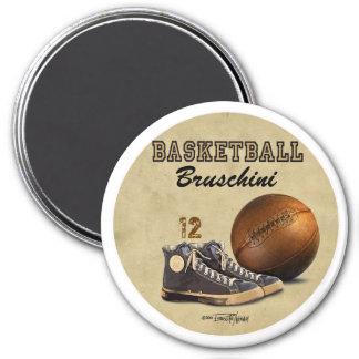 Basketball - Team sport 3 Inch Round Magnet