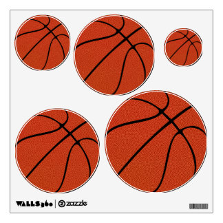 Basketball Team Sports Party, Gym or Locker Room Wall Sticker