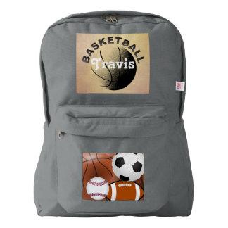 basketball team student school education classes backpack
