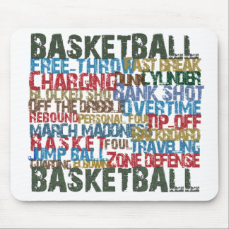 BASKETBALL TERMS gifts Mouse Pad