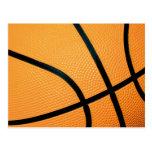 Basketball Text ture - Postcard