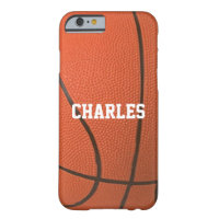 Basketball Texture Personalized Case