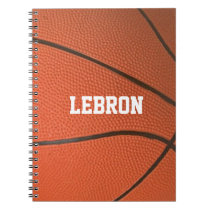 Basketball Texture Personalized Notebook